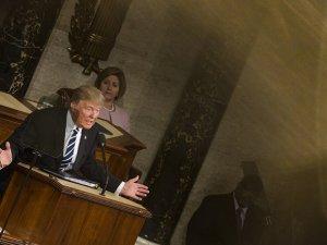ABD Başkanı Trump beklenen konuşmasını gerçekleştirdi