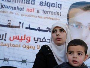 Af Örgütü: İsrail'in açlık grevindeki Filistinli gazeteciye verdiği idari hapis cezası zalimce