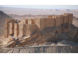 Suriye Palmira Kalesi'ni geri aldı