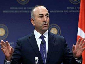 Çavuşoğlu: YPG çekilmezse vururuz!