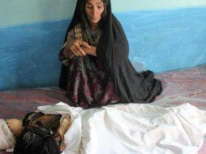 Afganistan'da Siviller Vuruldu