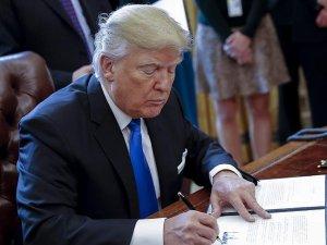 Trump Kafaya Taktı Yeni Bir Kararname Yayınladı