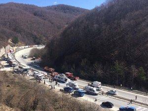 Otobüsü devrildi: 7 ölü, 33 yaralı