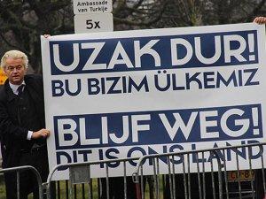 Hollanda'da aşırı sağcı liderden Türkiye karşıtı gösteri