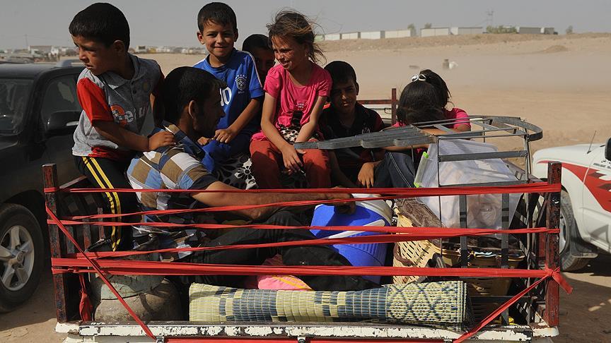 Irak'ta 4 milyon kişi evinden oldu