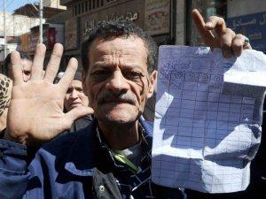 Mısır'da Ekmek Protestosu