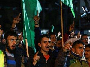 Gazze'de İsrail'in 'ezan yasağı' yasa tasarısına protesto