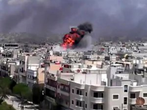 Şam'da Bombalı Saldırı: 40 Ölü