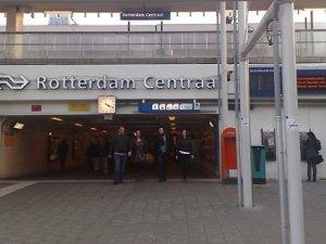 Rotterdam'da Gösteriye İzin