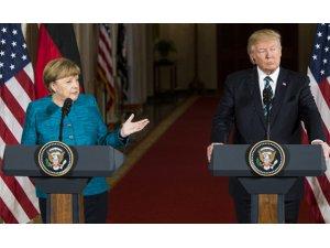 Trump: Almanya, NATO ve ABD'ye büyük paralar ödemek zorunda
