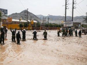 Peru'daki selde ölü sayısı 75 oldu