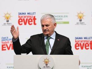 Yıldırım: Hiçbir ülke Türkiye'ye dayatma yapamaz