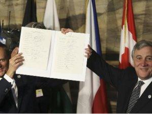 AB liderleri Avrupa'ya bağlılıklarını yineledi
