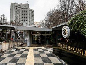 İsviçre'nin Ankara Büyükelçisi Dışişleri Bakanlığına çağırıldı