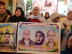 Filistinlilere Destek Gösterisi