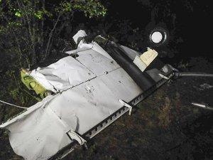 Afrika'da Uçak Düştü