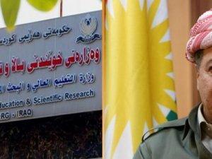 Başkan Barzani Kürtçe kararını bozdu