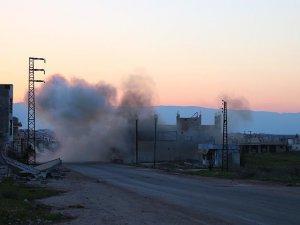 Hama'ya klor gazlı saldırı