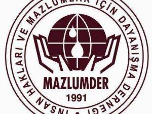 Mazlumder'den  İNSAN HAKLARI DEĞERLENDİRMESİ