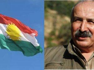 PKK'li Karasu'dan Kerkük'te Kürdistan bayrağı asılmasına tepki
