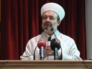 'Coğrafyamızda din emniyeti tehlike ve tehdit altında'