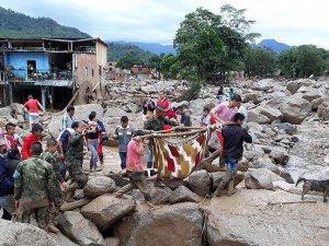 Kolombiya'daki sel felaketinde ölü sayısı 200'ü aştı