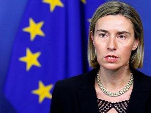 Mogherini: Suriye krizinde askeri çözüme karşıyız