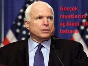 John McCain: Saldırı diğer ülkelere mesajdı