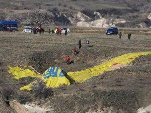 Kapadokya'da Balon Kazası