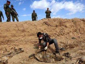 Şengal'de 31 toplu mezar ve 1646 kişiye ait kalıntılar bulundu