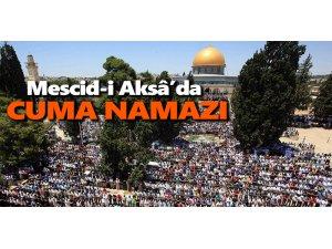 45 Bin Filistinli Mescidi Aksa'da NAMAZ KILDI