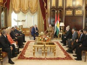 Başkan Barzani: Gösterilen iradeden memnunuz