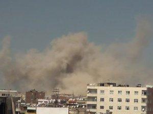 Diyarbakır'da büyük patlama''ele geçirilen bombalar patladı''