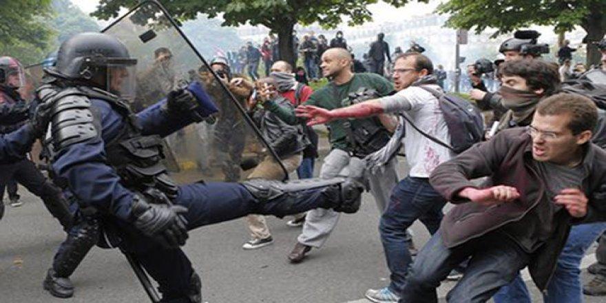 Fransa'da gardiyanların eylemi yayılıyor