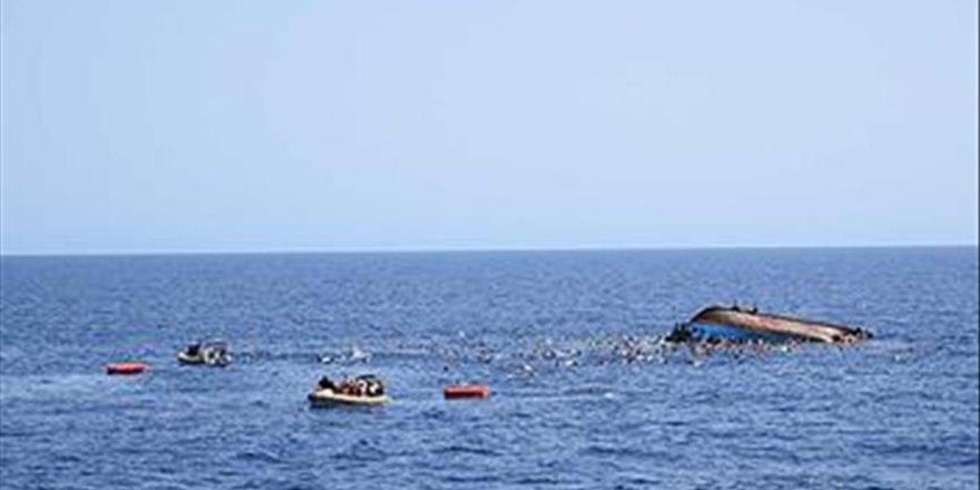 Akdeniz'de facia göçmenleri taşıyan tekne battı