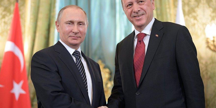 Erdoğan ve Putin, kimyasal silah iddiasını konuştu