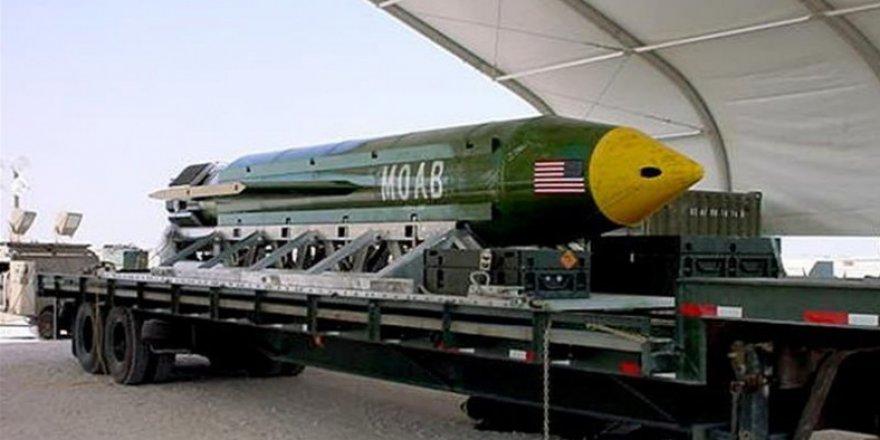 ABD: Afganistan'da en büyük bombayı kullandı