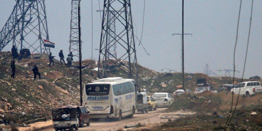 Suriye'de 2 bin 350 kişi karşılıklı tahliye edildi