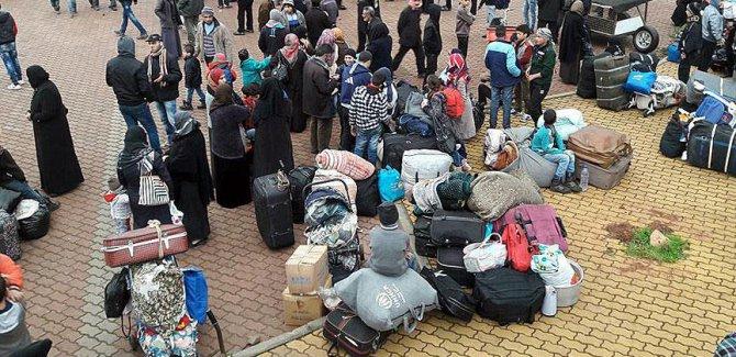 Suriye'de kuşatma bölgelerinden  tahliyeler tamamlandı