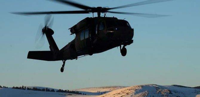 Düşen Helikopterdeki 12 Kişi Hayatını Kaybetti