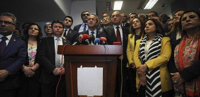 CHP iptal başvurusunu yaptı