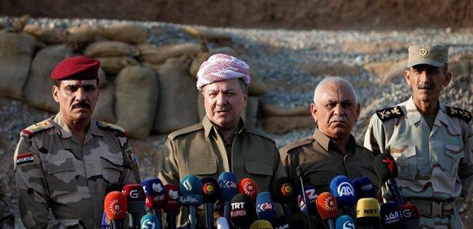 Barzani'den  Erdoğan ve Başbakan Yıldırım'a tebrik
