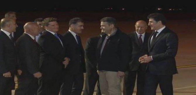 Almanya Dışişleri Bakanı Erbil'de
