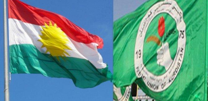 Haşdi Şabi, YNK bürosundaki Kürdistan bayrağını indirdi