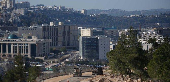 işgalci İsrail'den Kudüs'te 10 bin yeni konut