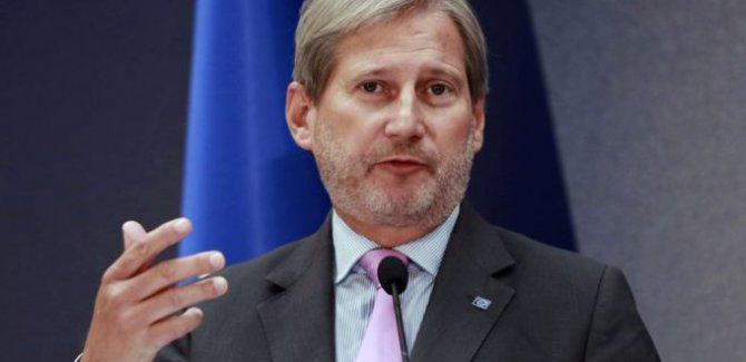 Hahn: Türkiye'ye üyelik dışında bir teklif sunmalıyız