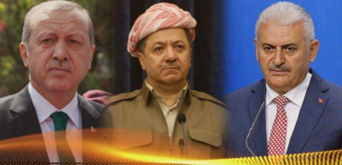 Erdoğan,Yıldırım ve Barzani telefonla görüştü