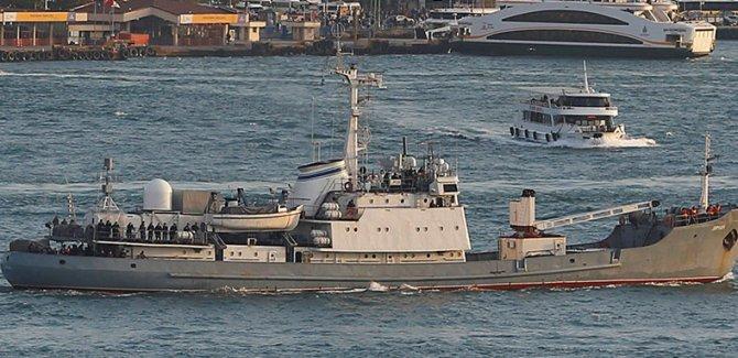 Rus savaş gemisi battı