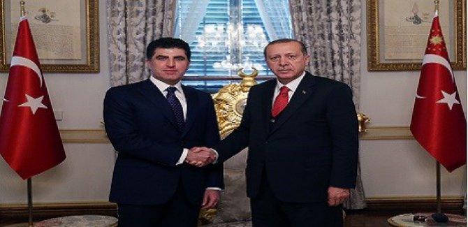 Erdoğan ile Barzani  ne konuştu?