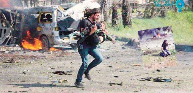 Macar Gazeteciye inat Suriye'de Örnek Tavır